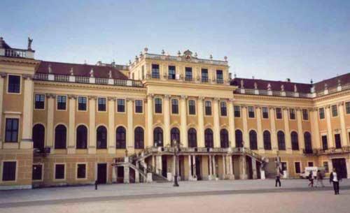 Cung điện Schloss Schönbrunn