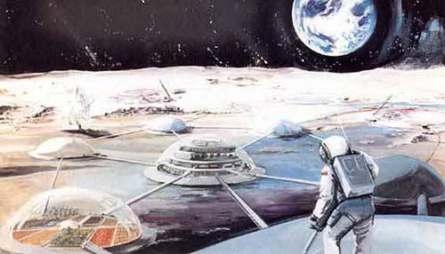 """Mỹ: Gặp trở ngại trong dự án """"Căn cứ mặt trăng"""""""