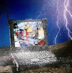 Matsushita dự định tung ra laptop chống nước