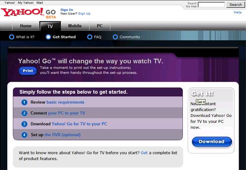 Phần mềm miễn phí của Yahoo biến PC thành đầu video
