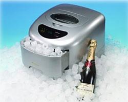 Muốn làm lạnh vật, đặt trên hay dưới nước đá?