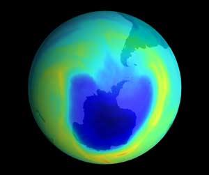 Tầng ozone của Trái đất đang khôi phục