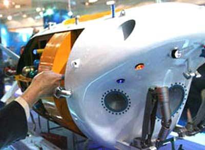 Trung Quốc: Chế tạo thiết bị lặn mới