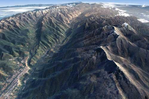Dãy núi dài nhất - Dãy núi Andes