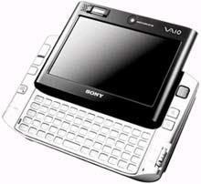Ultra Mobile PC siêu mỏng của Sony