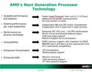 AMD giới thiệu cấu trúc chip thế hệ mới