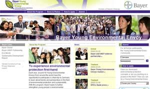 Sinh viên Việt Nam có cơ hội thành 'Đại sứ Môi trường'