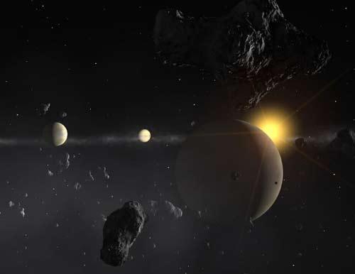Phát hiện hệ hành tinh giống hệ mặt trời