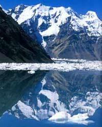 Hồ thủng ở Kirghizistan