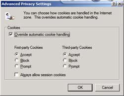 Cookie có làm hại máy tính không?