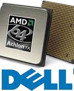 Dell tuyên bố dùng chip của AMD
