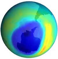 Lỗ thủng ozone có thể biến mất vào năm 2050