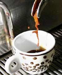 Que thử hàm lượng cafein