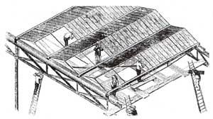 Vỏ bao kính và gỗ của Cung điện Pha lê