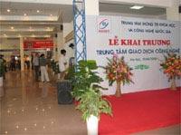Mở cửa trung tâm giao dịch công nghệ tại Hà Nội