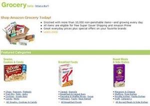 Amazon bán cả ... thực phẩm
