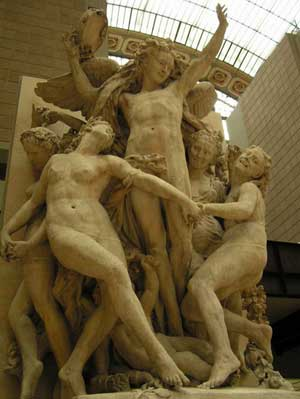 Tác phẩm điêu khắc The Dance tuyệt vời của Jean-Baptiste Carpeaux
