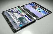 Notebook ấn tượng với màn hình đôi