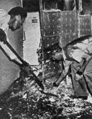 Mary Hardy Reeser ở St. Petersburg bị chết cháy năm 1951