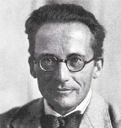 Nhà vật lý người Áo Erwin Schrödinger