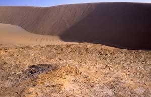 Những đụn cát ngày nay