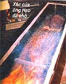 Xác chết không phân hủy sau hơn 36 năm