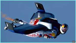 Chuyến bay thử nghiệm năm 2003 của Felickss Baumgartner.