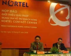 Nortel giới thiệu giải pháp hỗ trợ khách hàng tại Việt Nam