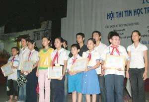 Hội thi tin học trẻ không chuyên Thủ đô: 31 giải thưởng!