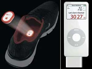 Giầy thể thao kết nối vào iPod