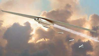 Máy bay ném bom thay hình đổi dạng