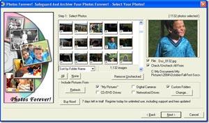 """Tìm và sao lưu toàn bộ ảnh số bằng """"Photos Forever"""""""