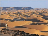 Người tiền sử từng sống ở sa mạc Sahara