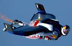 Bộ đồ bay Skyray do nhà thiết kế máy bay Alban Geissler ứng dụng