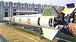 Tên lửa Taepodong-2 bay không xa như dự đoán