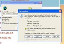 Thêm một virus lây lan mạnh qua Yahoo! IM