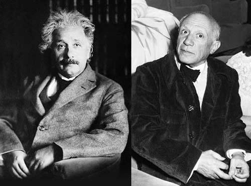 Picasso đã vẽ thuyết tương đối của Einstein?