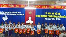 Khai mạc Hội thi Tin học trẻ không chuyên toàn quốc 2006