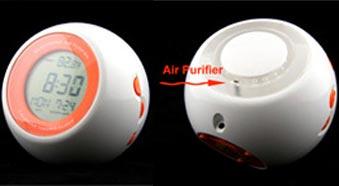 Phụ kiện USB mới: Báo thức kiêm lọc khí