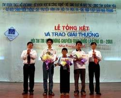 Bế mạc Hội thi tin học trẻ không chuyên toàn quốc lần thứ 12
