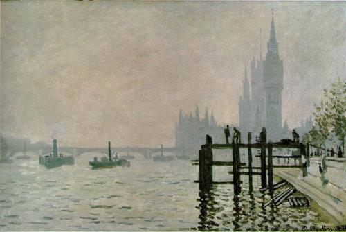 Dùng tranh của Monet tìm hiểu hiện tượng ô nhiễm khí bẩn