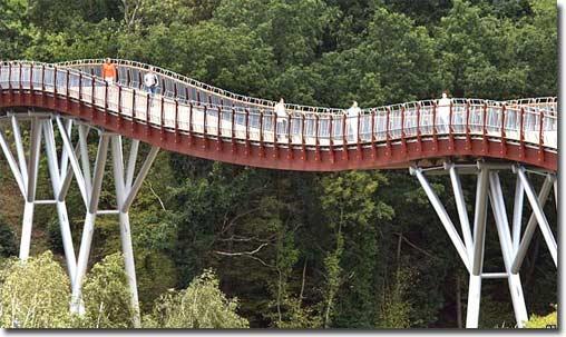 Đức khánh thành cây cầu gỗ dài nhất châu Âu