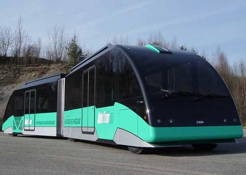Đức: Phương tiện vận chuyển kết hợp giữa xe buýt và xe điện
