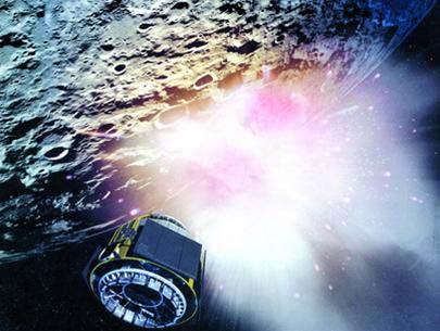 """NASA: """"Oanh tạc"""" Mặt trăng năm 2008"""