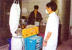 Sản xuất thành công sơn bột tĩnh điện