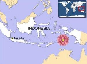 Indonesia hứng chịu động đất nhẹ