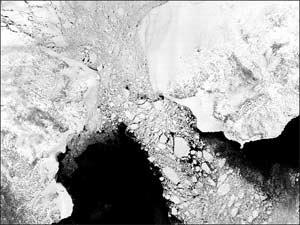Vùng Siberia bắt đầu tan băng