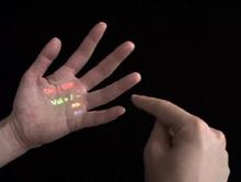 Lòng bàn tay thay thế thiết bị điều khiển từ xa?