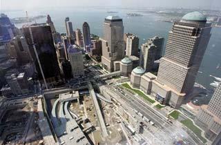 Các cao ốc tráng lệ trên nền WTC