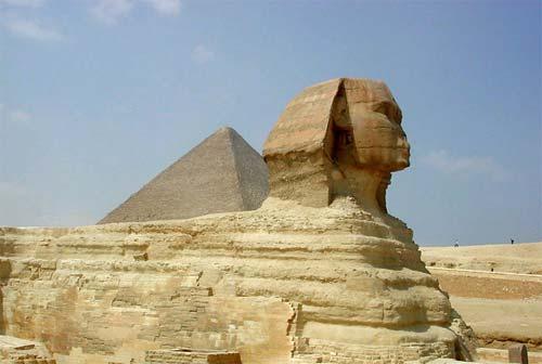 Ai Cập - Huyền bí pho tượng nhân sư
